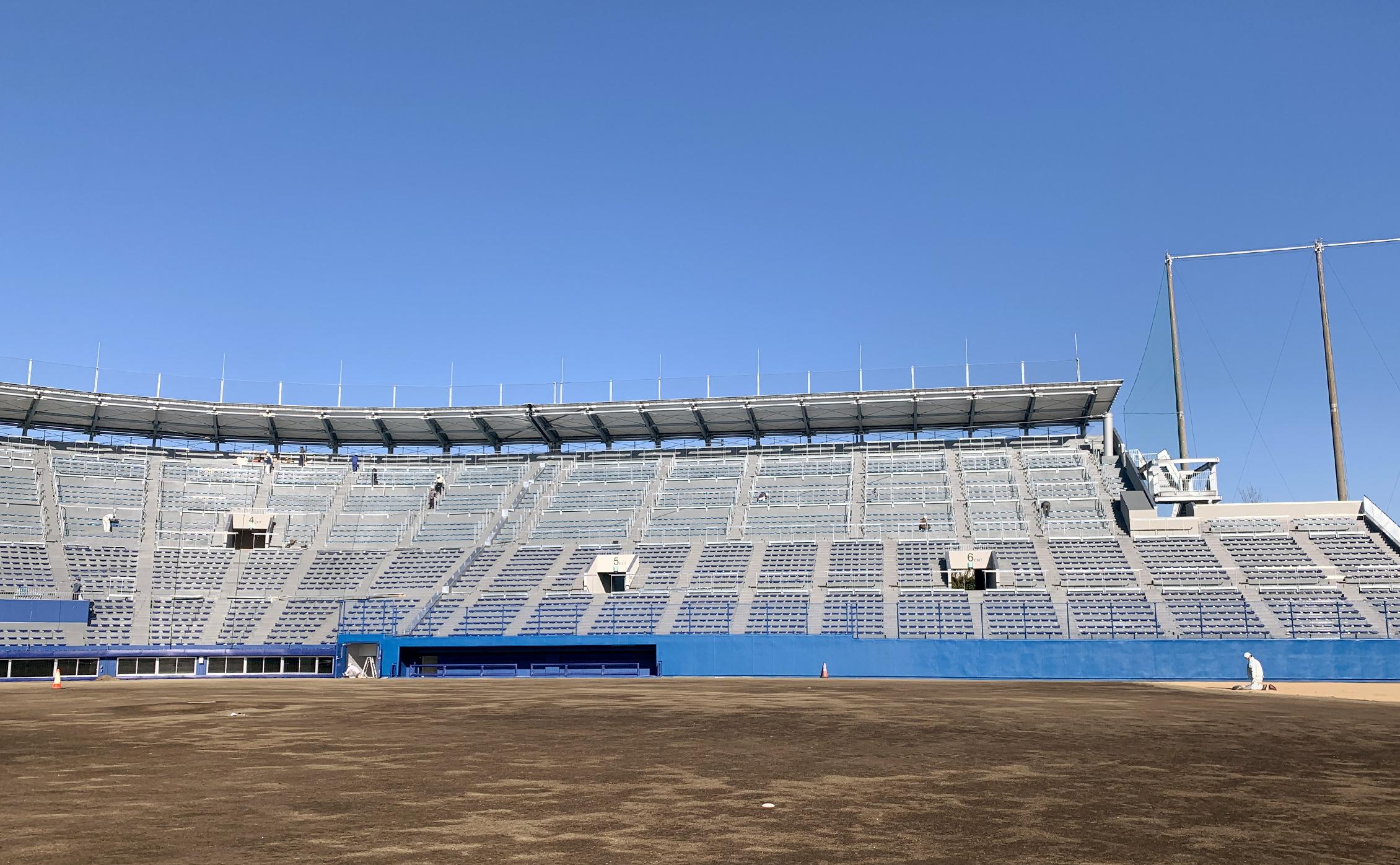 千葉野球場写真