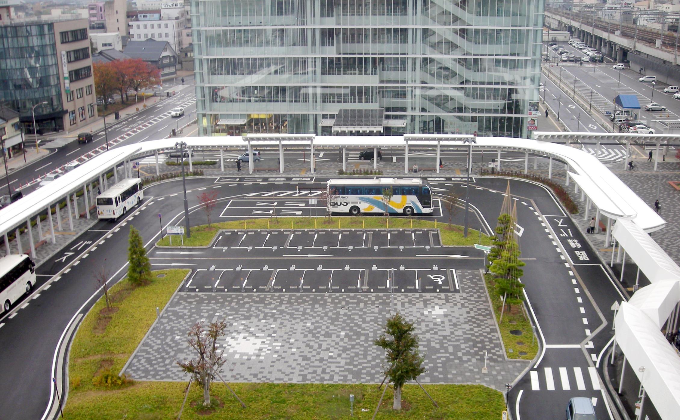 JR福井駅東口駅前広場 | 協立工業株式会社|膜構造の設計施工