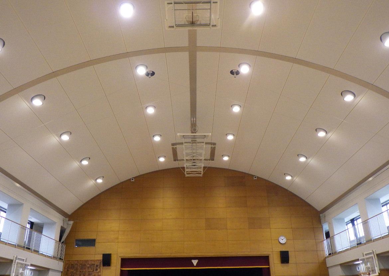 膜天井写真
