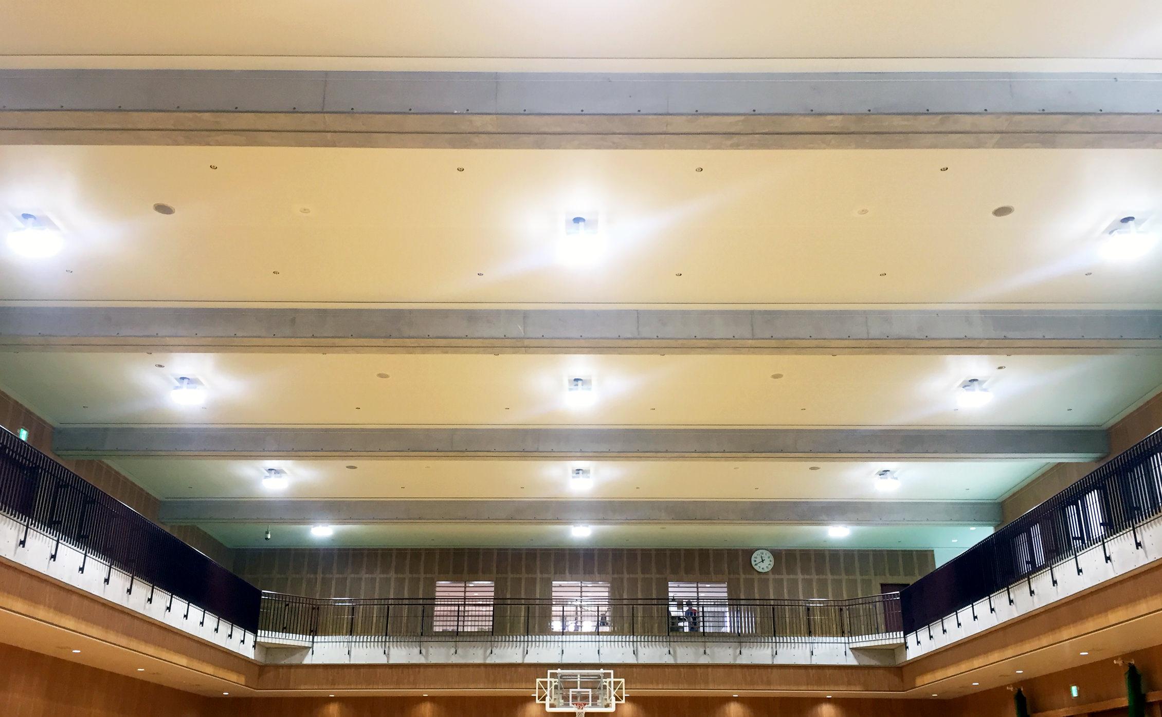 桃山学院昭和町キャンパス記念体育館写真