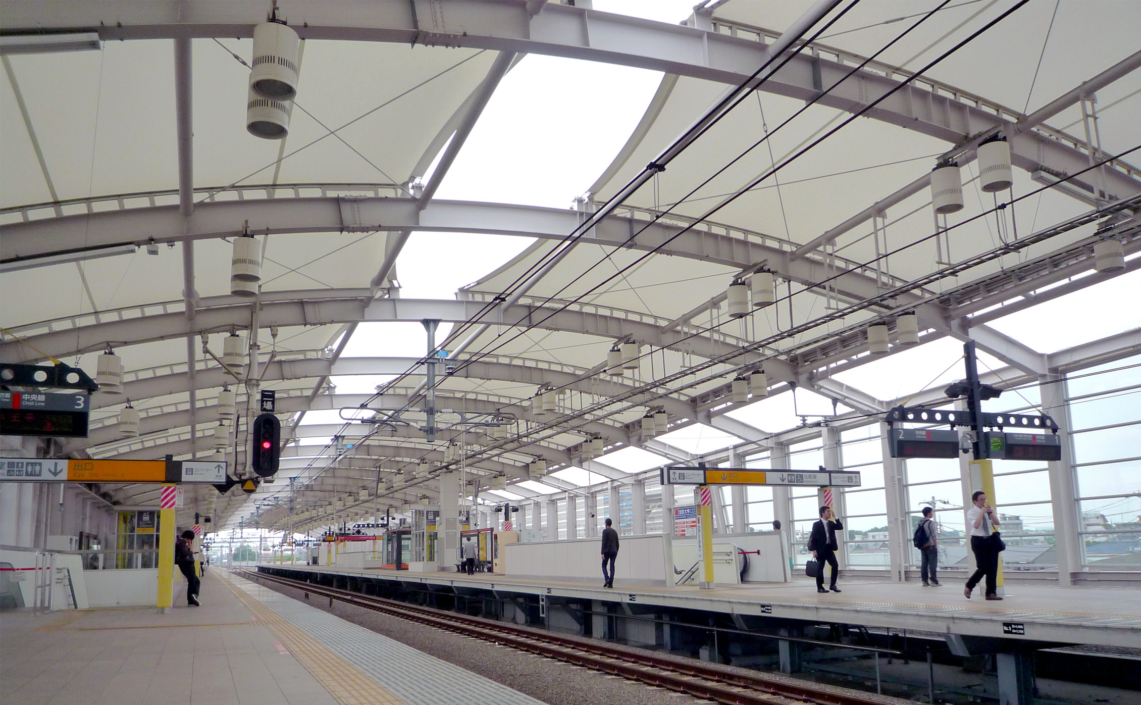 JR小金井駅写真