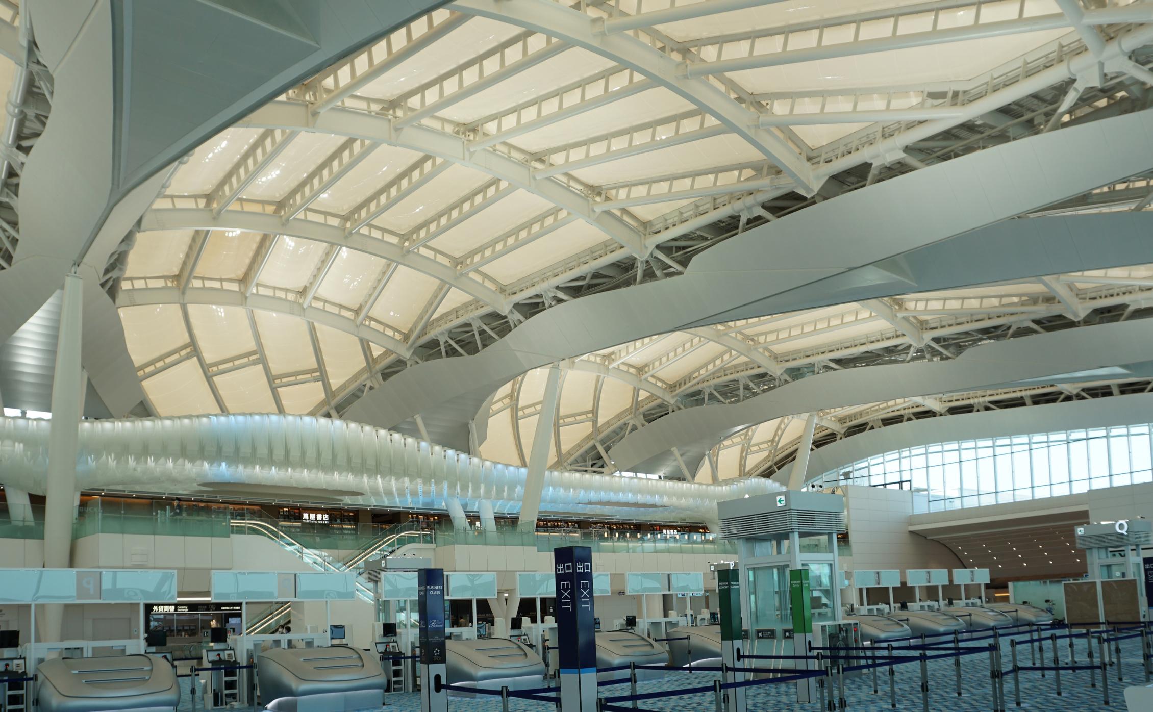 羽田空港ETFE
