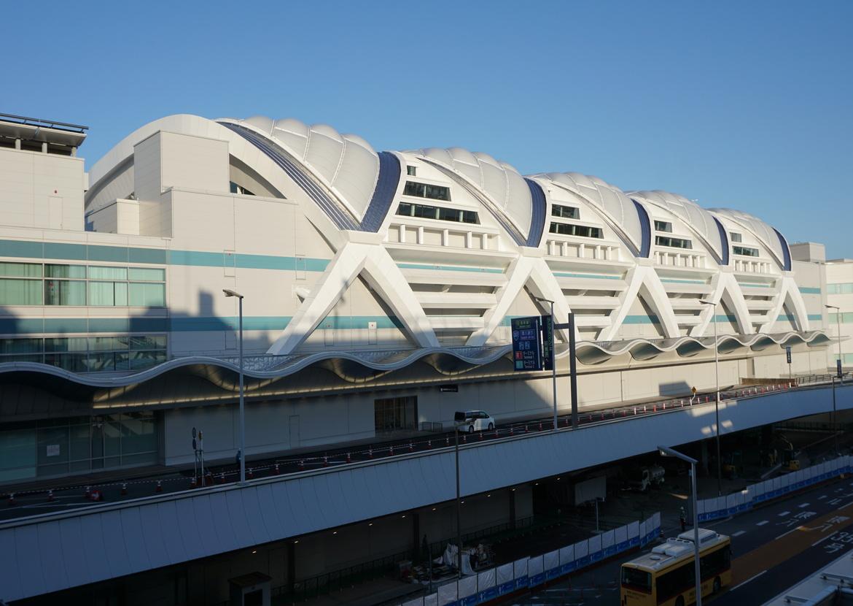東京国際空港(羽田)第2ターミナル国際線ETFE膜構造